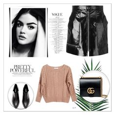 """""""Yes."""" by mayabee88 ❤ liked on Polyvore featuring Ryan Roche, Isabel Marant, Gucci and Nika"""