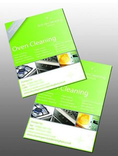 Oven Cleaning Leaflet Printed for Scinan Cleaning Services. They provide services in Oven Cleaning, Hob Cleaning, Extractor Cleaning, Microwave Cleaning etc.