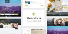 Resortica  Hotel WordPress Theme by code_themes  Resortica is a beautifully crafted outlandish theme for resorts or hotels of any kind. The theme is absolutely responsive which i