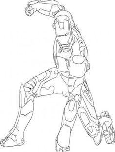 iron man 3 coloring pages   26 Iron Man Coloring Pages Iron-man-coloring-pages-3 – Free Coloring ...