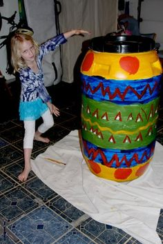 LBCWD Roll Out the Rain Barrel Art Contest 2011 Winner