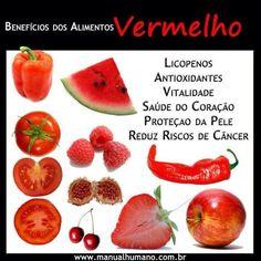 Benefícios dos alimentos Vermelho
