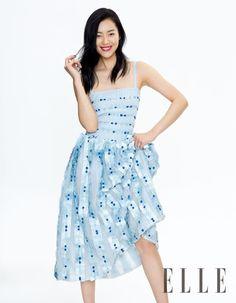 Fantasy Fashion Design: Liu Wen y Choi Siwon dos modelos con mucho encanto en la portada de ELLE China