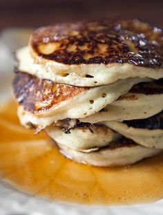 Grandma's Buttermilk Pancakes | I always knew my grandmother's buttermilk pancakes were special, and I'd love to share this specialness with all of you!