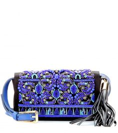 Emilio Pucci - Embellished satin clutch - mytheresa.com GmbH