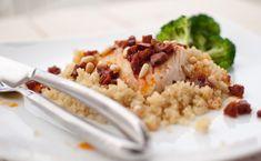 Torsk med chorizo og quinoa - Kvardagsmat Quinoa, Chorizo, Risotto, Protein, Ethnic Recipes, Food, Dinners, Dinner Parties, Essen