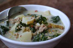 ~Stella B's Kitchen: Potato, Sausage and Kale Soup