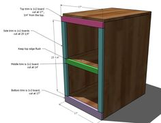 Ana White | Build a File Base for the Classic Storage Wall System Desk | Free and Easy DIY Project and Furniture Plans