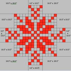 kelbysews: Pixelated Snowflake Tutorial: Christmas in July Challenge - TEL KIRMA (Bartın İşi) Quilt Block Patterns, Pattern Blocks, Quilt Blocks, Cross Stitch Patterns, Quilting Tips, Quilting Tutorials, Quilting Designs, Snowflake Quilt, Snowflakes
