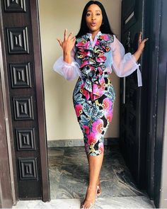 2019 Short African Dresses : Mind Blowing Fashion Styles for Lovely Ladies Wad up ladies. We've got you covered for every occasion with our cutest collection of short African dresses. Ankara Short Gown Styles, Short African Dresses, Short Gowns, Latest African Fashion Dresses, African Print Dresses, Short Styles, African Prints, Kente Styles, Ankara Fashion