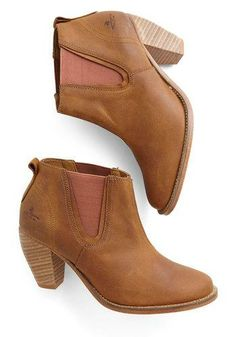 Park Slope Promenading Booties. Great for spring and summer concerts and festivals!