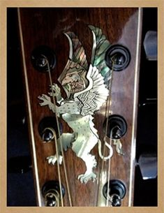 Larrivée Guitars - Inlay Artwork Guitar Inlay, Guitars, Door Handles, Artwork, Home Decor, Work Of Art, Decoration Home, Auguste Rodin Artwork, Room Decor