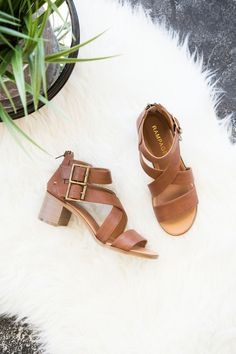 We are loving heeled sandals this spring and summer! These strappy, heeled sandals are so comfortable and oh so beautiful. Color goes perfect with neutrals as well as loud, seasonal colors! Shop our t