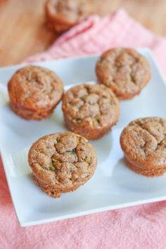 Flourless Almond Butter Zucchini Muffins