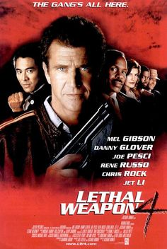 1998 movie posters | IMP Awards > 1998 Movie Poster Gallery > Lethal Weapon 4 Poster #3