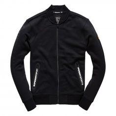 Superdry Gym Tech Bomber fitness vest heren black
