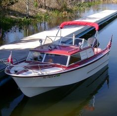 Boat for sale, 1966 ft Glasspar Seafair Sedan! ShowMeTheAd has classifieds in Tavares, Florida for new and used boats. Small Power Boats, Power Boats For Sale, Cool Boats, Used Boats, Cabin Cruisers For Sale, Fishing Boats For Sale, Camper Boat, Glass Boat, Sailboat Living
