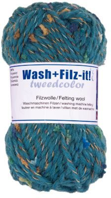 Wash+Filz-it! tweedcolor petrol € 1,99