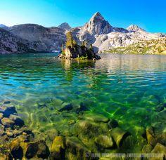 Upper Rae Lake, Kings Canyon National Park