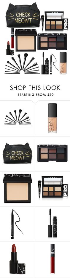 """What's in my Makeup Bag?"" by lexi-leake ❤ liked on Polyvore featuring beauty, NARS Cosmetics, LORAC and Clinique"