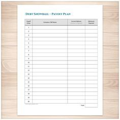 Strategic Plan and Profit & Loss #platformplanner #printable ...