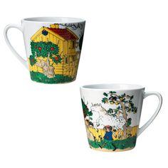Mug Pippi moves in, Rörstrand #rörstrand #pippi #pippilongstocking #royaldesign #design