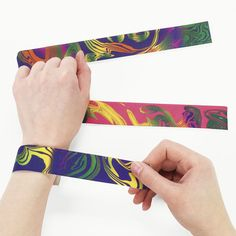 And… The ultimate party favor! SLAP BRACELETS! | 31 Party Favors You Expected At '90s Birthday Parties