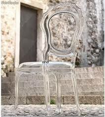 Be creative with acrylic. This is a more ornate and detailed acrylic ghost chair to suit those who are more outlandish. Home Decor Styles, Cheap Home Decor, Baroque, Clear Chairs, Lucite Furniture, Luis Xvi, Acrylic Chair, Plexiglass, Ghost Chairs
