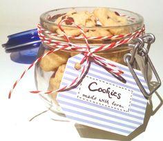 {Geschenkidee} Chocolate-Chip Cookies im Glas