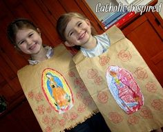 Juan Diego's Paper Tilma for Kids   Catholic Inspired ~ Arts, Crafts, and Activities!