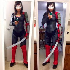 Katana #cosplay by crystal221 on DeviantArt