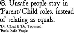 Personal traits of Unsafe People ... #Relationships, #Family, #quotes