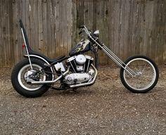 1965 Harley-Davidson Sportster XLCH Chopper for sale via Rocker.co