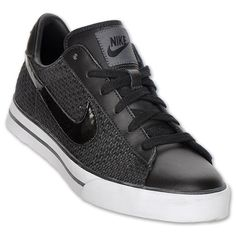 NIKE Sweet Classic Low Textile Women's Casual Shoe,  Black/White/Anthracite $59.99