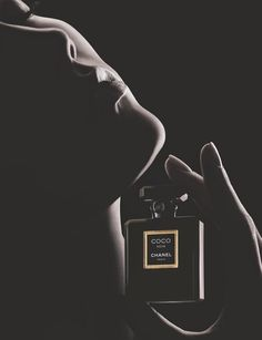 Karlie Kloss for Chanel Coco Noir Fragrance Campaign 2014