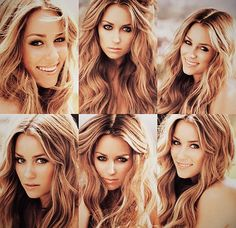 her hair is always flawless. i'm pretty much obsessed with LC