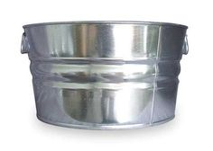 Galvanized Steel Tubs by VALUE BRAND - Mop Buckets by Zoro Tools Industrial Supplies