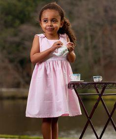 Look at this #zulilyfind! Pink Gingham Personalized Sash Jumper - Infant, Toddler & Girls #zulilyfinds