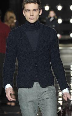 Ermano Scervino FW 13/14 - Milan Men's Fashion Week