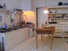 can you imagine this is a vintage dollhouse kitchen - Dollhouse Kitchen