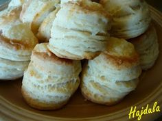Hozzáv aló 1 kg liszt 5 dkg élesztő Canapes, Croissant, Bakery, Pizza, Desserts, Erika, Brot, Tailgate Desserts, Deserts