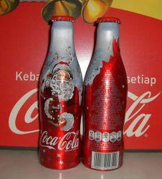 Coca Cola Christmas Bottle Belgium 2008/ Natal Bélgica 2008