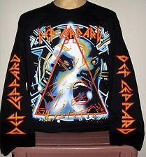 Def Leppard Hysteria long sleeve T-Shirt Size S M L XL 2XL 3XL Hard Rock Band