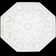 Magestic Morocco - My Moroccan Style Plaster Ceiling Rose, Free Park, Gypsum, West London, Moroccan Style, Islamic Art, Wall Tiles, Morocco