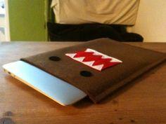 selfmade domo kun macbook bag