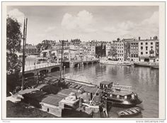 1950. Magere Brug over the Amstel.