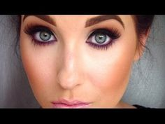 Smokey eye with a pop of color - YouTube