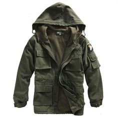 e6d207a8e5af Military Tactical Army Jacket Thermal Trench Coat With Hood And Fleece –  Miltact.com Military