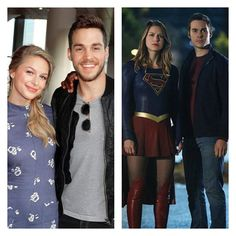 what i need in life 1. Melwood 2. Karamel 3. SUPERGIRL ✨ that's all Cute Couples Goals, Couple Goals, Kara And Mon El, Supergirl 2, Chris Wood, Melissa Benoist, The Cw, Superman, Netflix