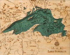 great lakes topography - Google Search